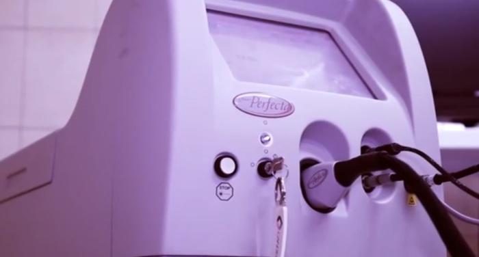 Лазерное оборудование для удаления купероза