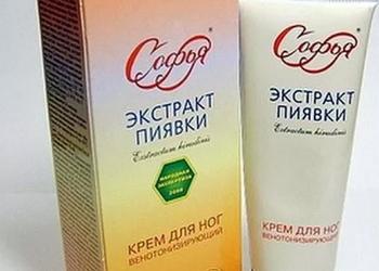 Крем Софья с экстрактом пиявки — доступное средство в борьбе с варикозом